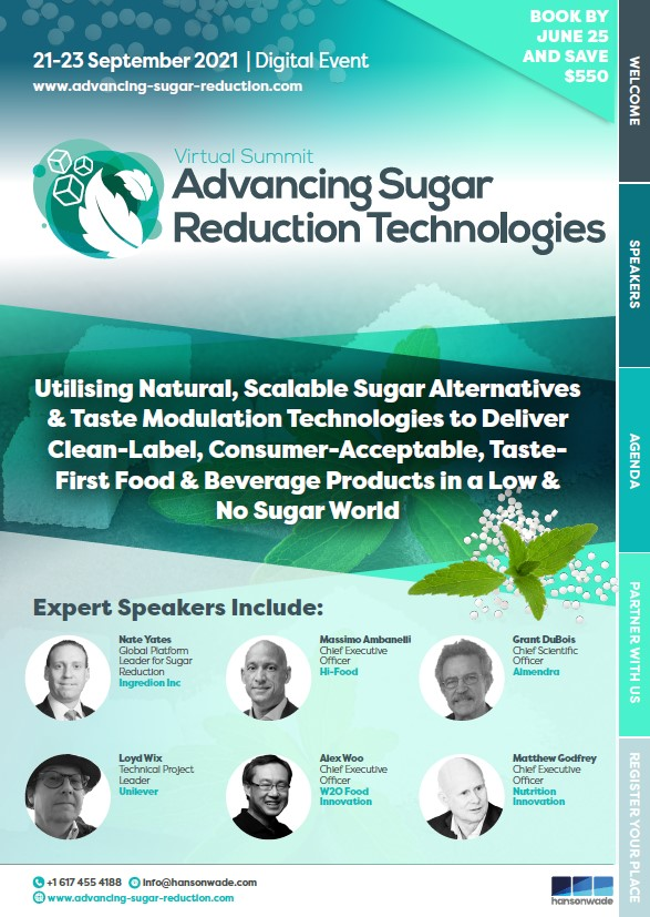 Sugar Reduction Cover